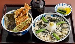 天丼+磯おろし